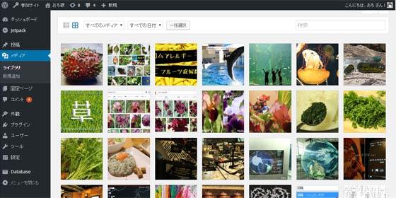 WordPressのメディアライブラリに登録したはずの古い画像を探す