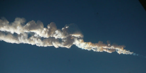 ロシアのチェリャビンスク大隕石
