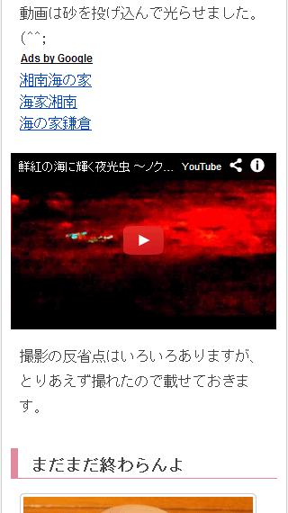 モバイル動画画面