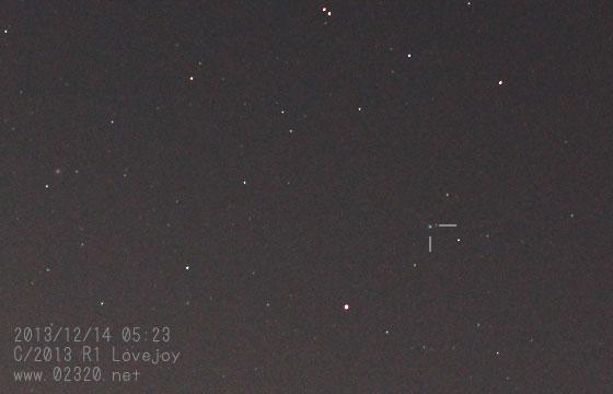 ラブジョイ彗星(C/2013 R1 Lovejoy)