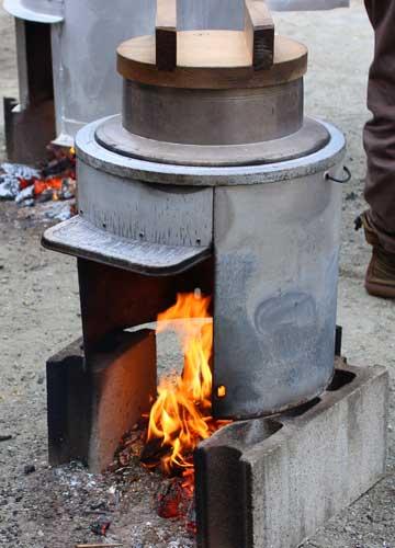 防災公園の炊き出し用コンロが防災備蓄として超使いやすそうな件