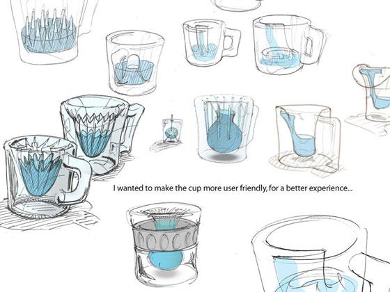 宇宙専用のコーヒーカップ