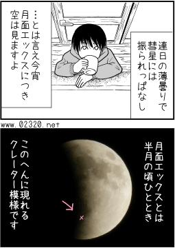 月面Xを観測しよう