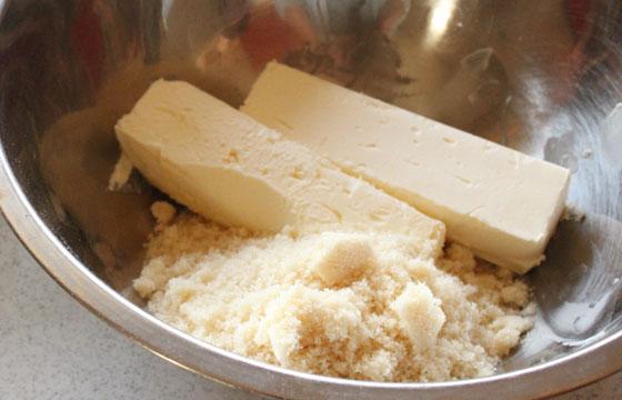 バターと砂糖