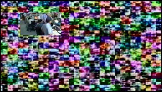 しんかい6500からの通信失敗画像