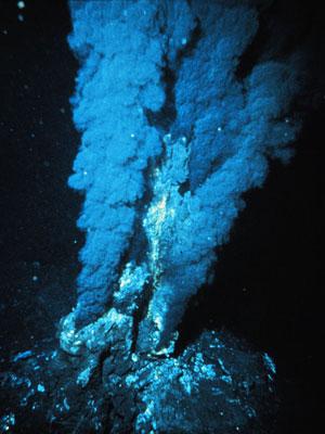 熱水噴出孔(チムニー)