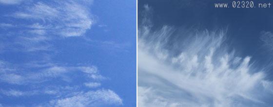 ハロが出やすい巻雲