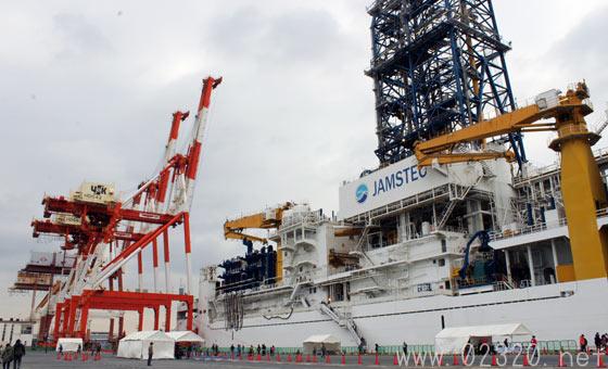 地球深部探査船「ちきゅう」就航10周年JAMSTEC一般公開2015