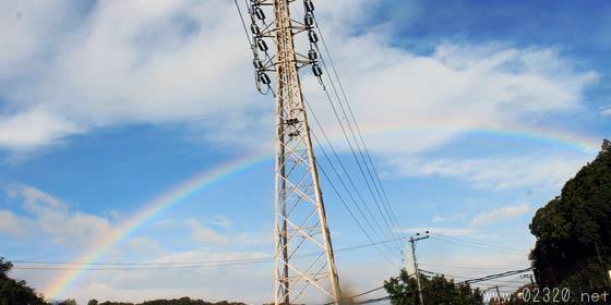 2015/11/26に出現した虹