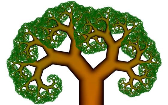 ピタゴラスツリー