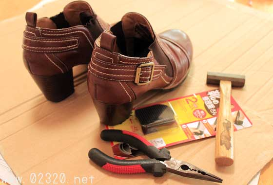 靴底を自分で張替え修理するときの良くある失敗&補修材
