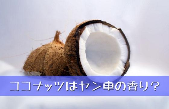 ヤンキーの車は何故ココナッツの甘い匂いがするのか