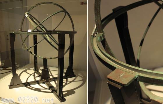 渾天儀(複製) 藤広則作 1776年