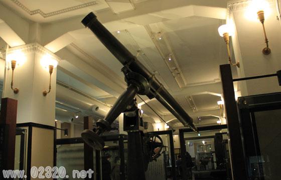 科博常設展の古い天文道具