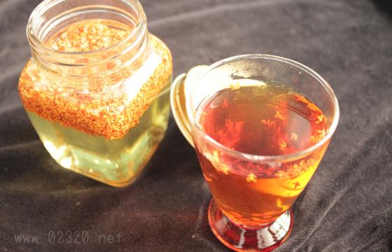 キンモクセイの紅茶