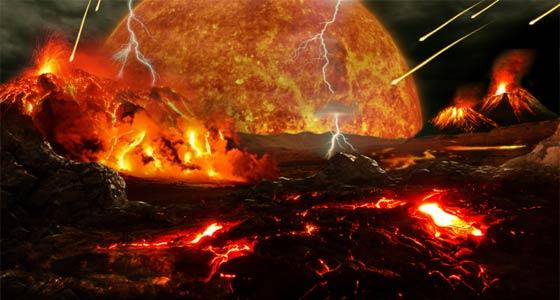 40億年前の地球大気ってどんな感じ!?「冥王代」の話